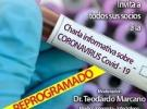 Charla informativa sobre o Coronavirus COVID-19, en Caracas