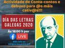 Día das Letras Galegas 2020 para as cativas e cativos galegos do exterior