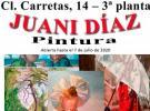 Exposición de pintura de Juani Díaz, en el Centro Gallego de Madrid
