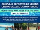 Colonia de verán para nenos/as de Febreiro do 2021 do Centro Galego de Montevideo