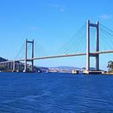 Uno de los puentes colgantes más importantes del mundo