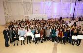 Entrega de diplomas a la tercera promoción de becarios/as BEME y segunda de las Becas Juventud Exterior para Formación Profesional
