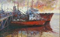 Barcos no porto