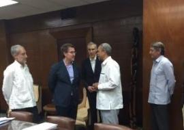Feijóo acorda firmar un memorando de colaboración para comprometer actuacións e intereses concretos entre o Goberno cubano e a Xunta de Galicia
