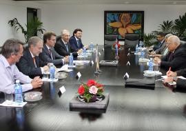 Feijóo valora el interés máximo del Gobierno cubano por conocer la economía gallega y concretar distintos proyectos y actividades de negocio entre Galicia y Cuba