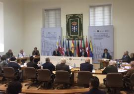 La Comisión Delegada del Consello de Comunidades Galegas renueva su apoyo y el compromiso para que la Ribeira Sacra, cuya candidatura respaldou públicamente en su reunión de 2015, si convierta en Patrimonio de la Humanidad