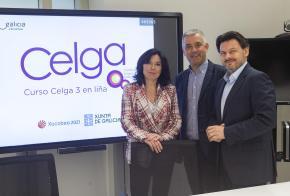 A Xunta presenta o curso Celga 3 en liña no marco do plan de formación en lingua galega