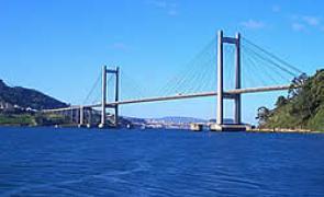 Unha das pontes colgantes máis importantes do mundo