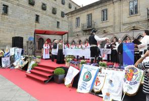 Acto Litúrxico Praza da Quintana (Santiago de Compostela)