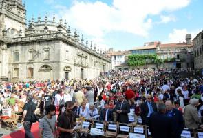 Acto Litúrgico Plaza de la Quintana (Santiago de Compostela)