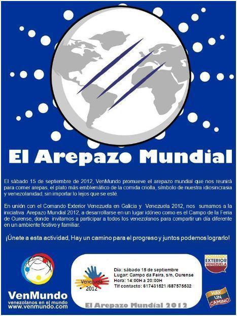 Arepazo Mundial 2012