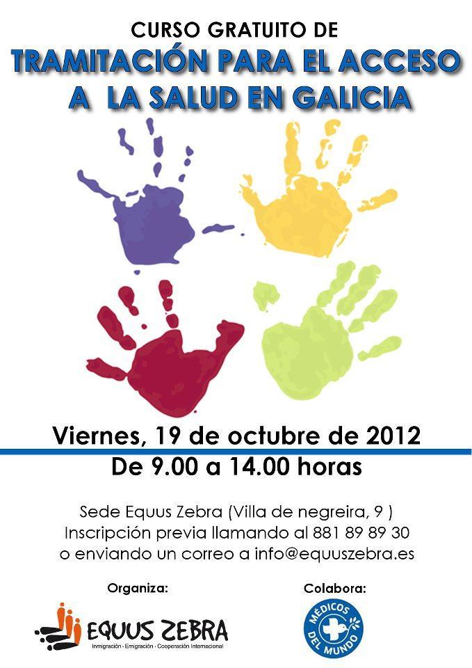 Curso de tramitación para o acceso á saúde en Galicia