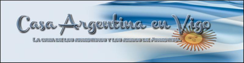Xantar Fin de Ano 2012 da Casa Argentina en Vigo