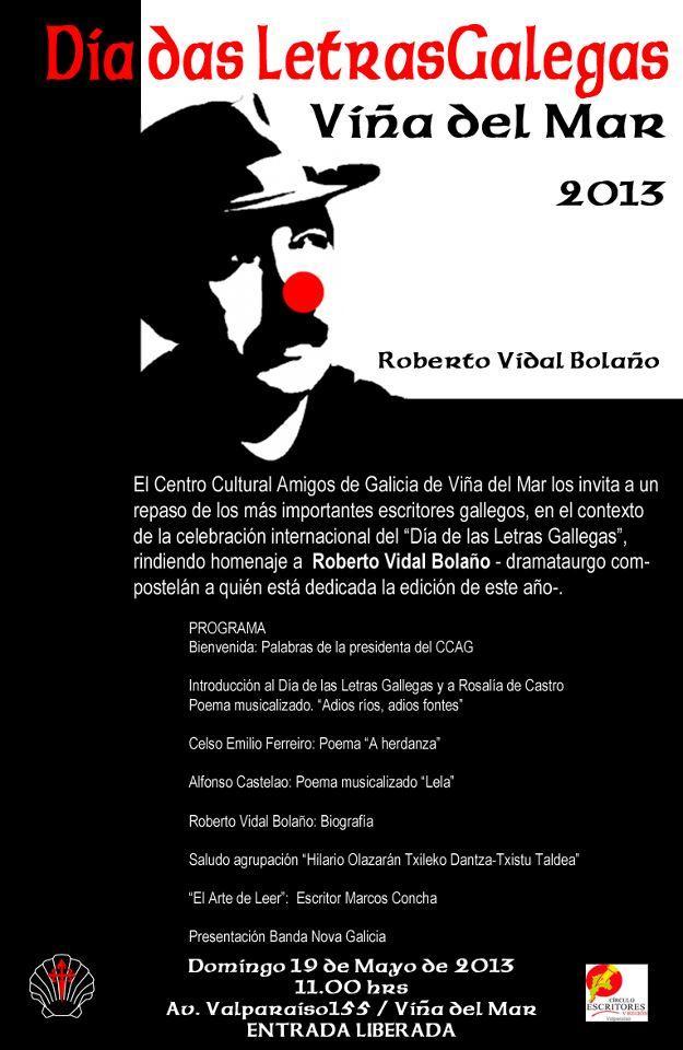 Día das Letras Galegas 2013, en Viña del Mar