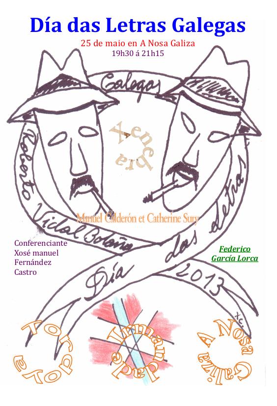 Día das Letras Galegas 2013 en Ginebra