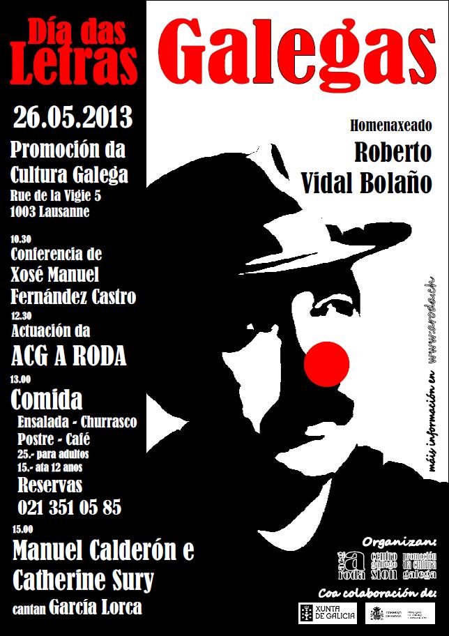 Día das Letras Galegas 2013 en Lausanne
