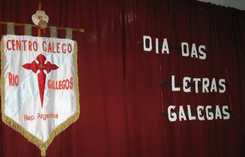 Día das Letras Galegas 2013 - Té del encuentro, en Río Gallegos