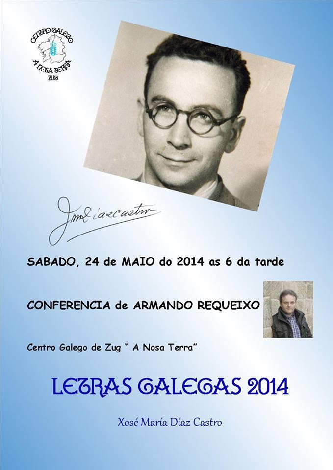 Día das Letras Galegas 2014 en Zug