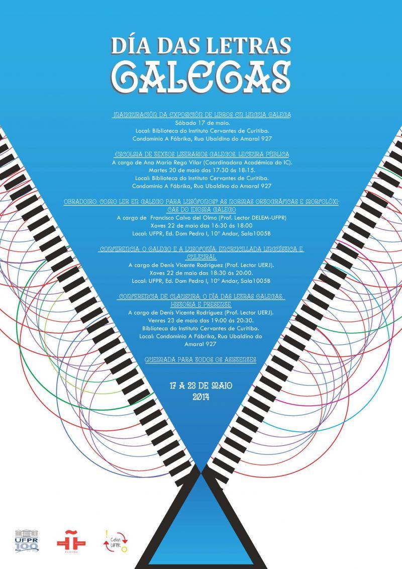 Día das Letras Galegas 2014 en Curitiba