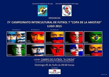 """IV Encuentro Intercultural de Fútbol 7 """"Copa de la Amistad"""", en Lugo"""