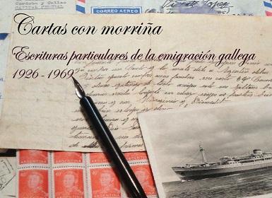 Exposición 'Cartas con morriña. Escrituras particulares de la emigración gallega 1926-1969', en el MEGA de Buenos Aires