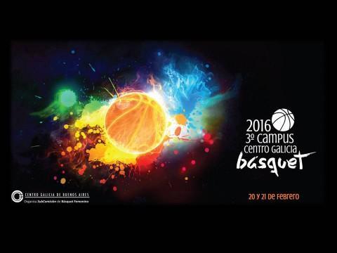 Campus de baloncesto 2016 do Centro Galicia de Bos Aires