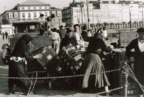 Exposición 'Memoria gráfica de la emigración española', en Ferrol