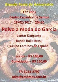 122º aniversario do Centro Espanhol de Santos