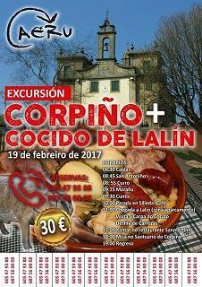 Excursión á Nosa Señora do Corpiño e á Feira do Cocido de Lalín, da AERU