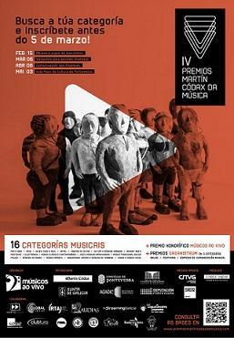 IV Premios Martín Códax da Música - 2017
