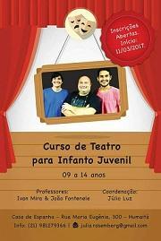 Curso de teatro infantil e xuvenil na Casa de Espanha de Río de Xaneiro
