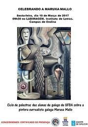Homenaxe a Maruxa Mallo na Universidade Federal da Bahia