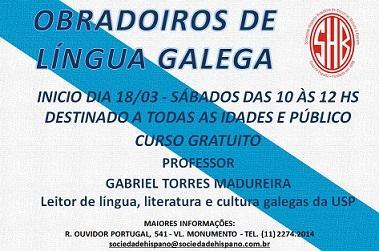 Obradoiros de lingua galega, en São Paulo