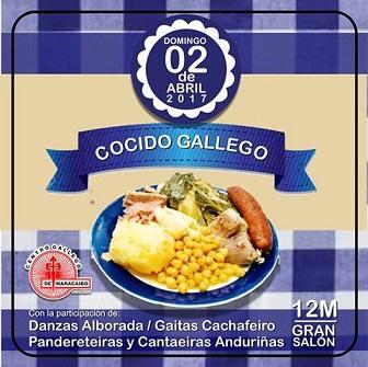 Festa do Cocido Galego 2017, en Maracaibo