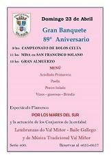 89º Aniversario do Círculo Social Val Miñor en Bos Aires
