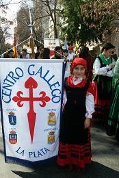 Charla sobre lengua y cultura gallegas, en el Centro Gallego de La Plata