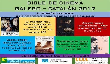 Ciclo de cinema 'As relacións familiares: unha perspectiva desde o cinema galego e catalán', en São Paulo