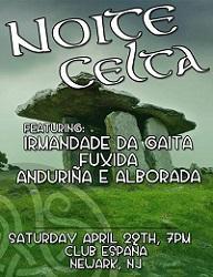 Noite Celta, no Club España de Nova Jersey