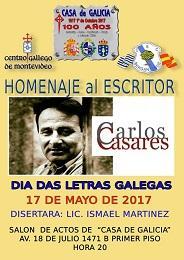 Día das Letras Galegas 2017 en Montevideo