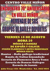 Homenaxe 70º Aniversario do Val Miñor de Montevideo