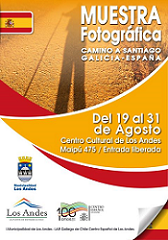 """Exposición fotográfica """"Camino a Santiago"""", en Los Andes"""
