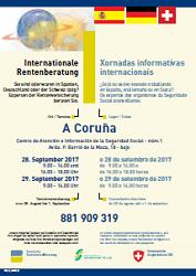 Jornadas informativas hispano-alemano-suizas de Seguridad Social, en A Coruña