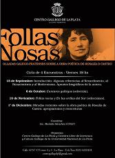 'Follas Nosas. Olladas galego-pratenses sobre a obra poética de Rosalía de Castro', en La Plata
