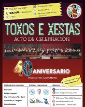 40º aniversario da Escola de Gaitas e Danzas 'Toxos e Xestas' de Barcelona