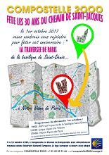 Travesía 30º aniversario del Camino de Santiago como Itinerario Cultural Europeo, en París