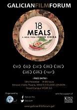 «18 Comidas - 18 Meals», na 7ª edición do Galician Film Forum de Londres