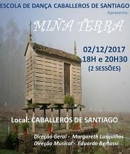 Espectáculo de danza 'Miña Terra', en Salvador de Baía
