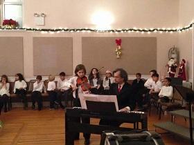 Concierto de Navidad 2017 en la Casa Galicia de Nueva York
