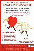 Taller Mindfullness da Asociación Corazón sin Fronteras, en Vitoria