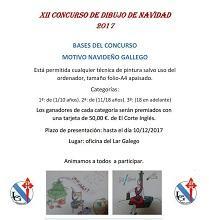 XIIº Concurso de Dibujo navideño - 2017 del Lar Gallego de Pamplona